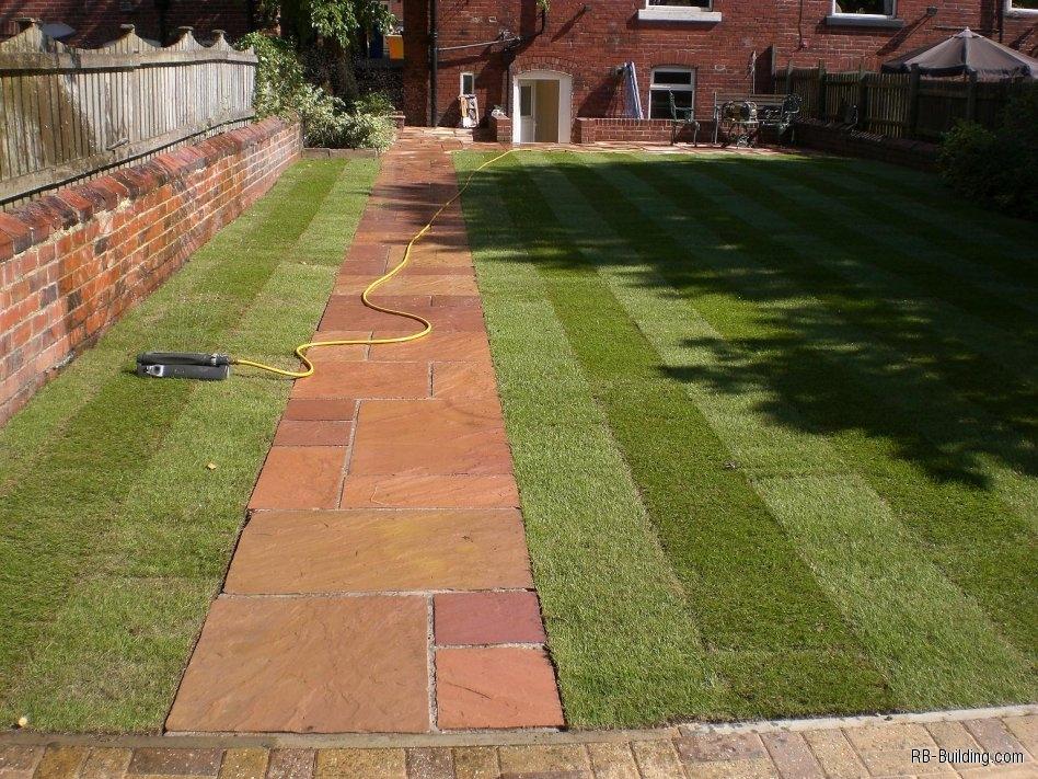 Landscape Garden Design Sheffield : Sheffield landscaper gallery patios decking ponds fencing sleepers