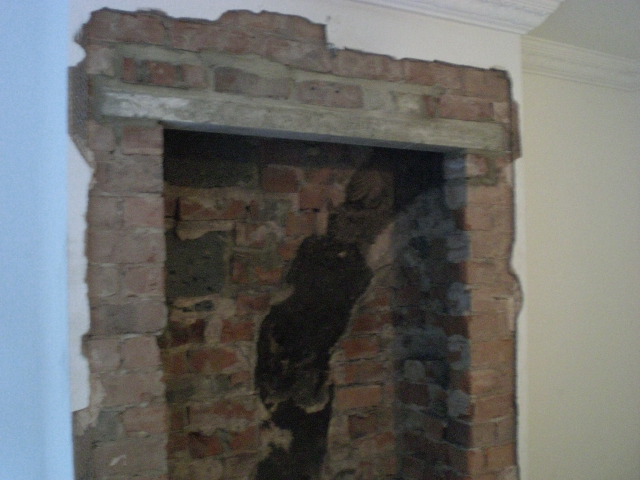 Load Bearing Chimney : Sheffield builder gallery extensions kitchens bathrooms