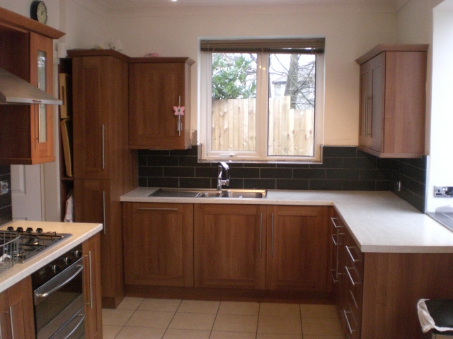 Sheffield builder gallery extensions kitchens bathrooms for American walnut kitchen cabinets