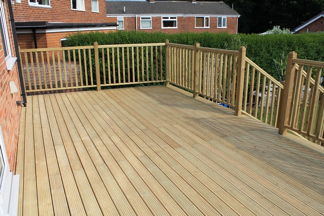 Sheffield builder landscaper gallery images of houses and for 6 metre decking boards