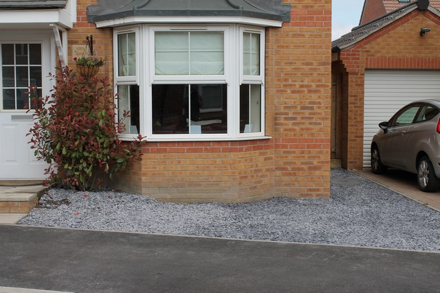 Patio Slate Chippings Modern Patio Outdoor