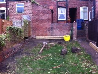 Sheffield Landscaper Gallery Patios Decking Ponds Fencing Sleepers - Garden decking rope